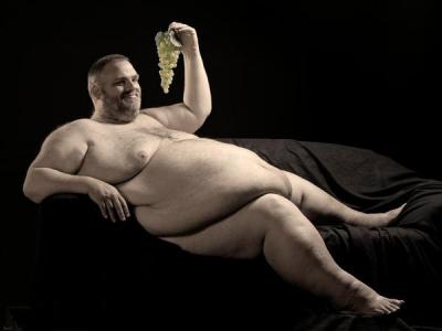 Single damer tykk mann